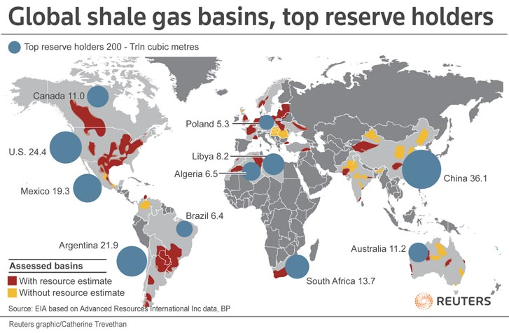 Us Shale Gas Map Globalinterco - Us shale plays map eia