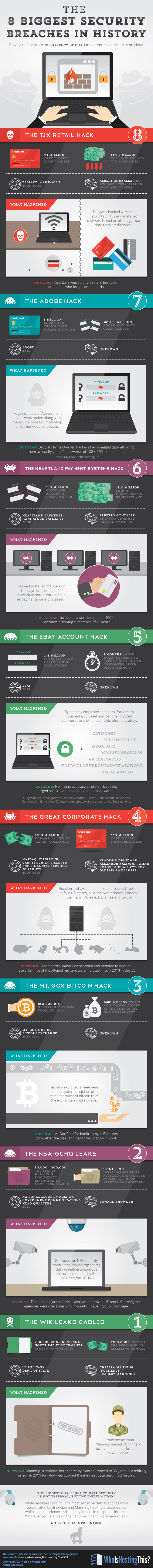 Infographic of Data Breaches