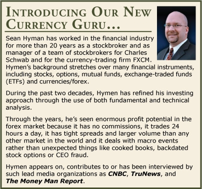 Our New Currency Guru: Sean Hyman