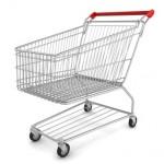 Shopping cart left