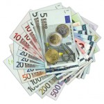 Currency euro paper