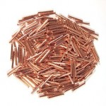 slices of copper
