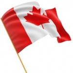 Country Canada flag small