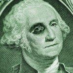 Currency USD black eye