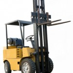 Construction forklift