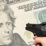 Currency Dollar Shot Q