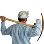 Gold miner Q pick axe