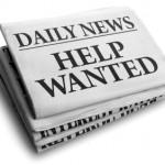 Help wanted daily newspaper headline