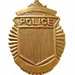 Police badge Q