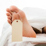 Dead Body with Clipping Path