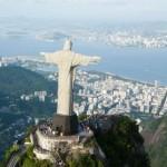 aerial view; of Corcovado, Rio de Janeiro,