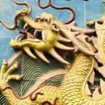 china gold dragon