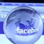 Facebook globe reflection