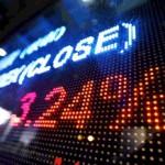 stock tickers display