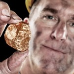 Gold mine miner nugget