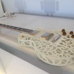 A 3D-printed guitar