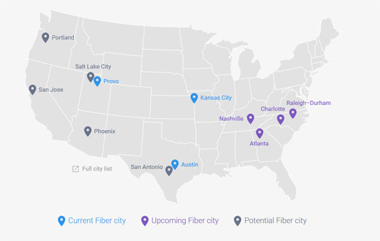 Comcast Haters Rejoice Google Fiber To Rollout In Four
