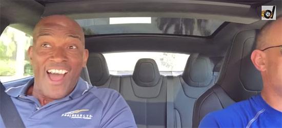 New Tesla Model S