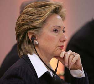 2016 Election Candidate Hillary Clinton