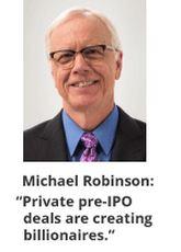 Michael Robinson Pre IPO