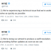 why did the nyse shut down today
