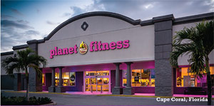 planet fitness stock
