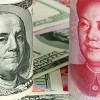 yuan and the dollar