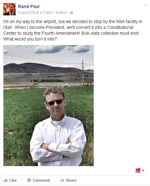 Rand Paul Close the NSA