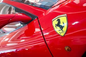 Ferrari share price