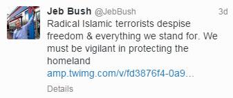 Bush-Tweet