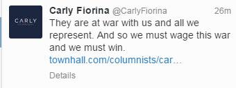 Fiorina-Tweet