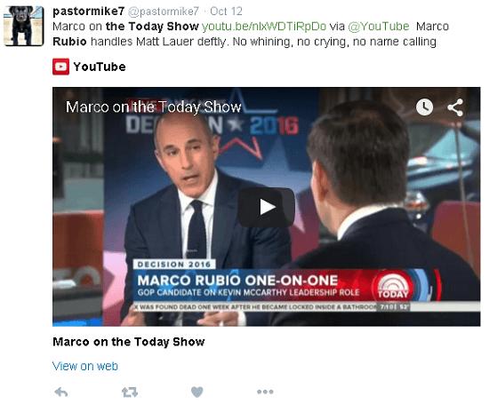 Today Show Rubio