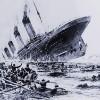 Titanic-sinking-