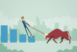 business-man-pulling-bull