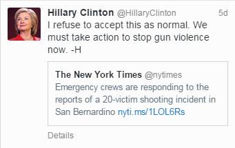 hillary-tweet-gun