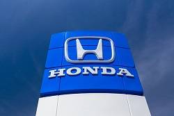 Honda stock price