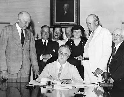 President Roosevelt issued several executive orders during his time of presidency at the height of WWII.