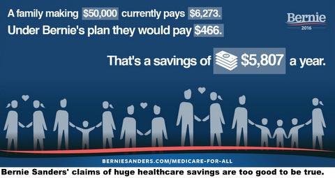 Bernie Sanders healthcare plan