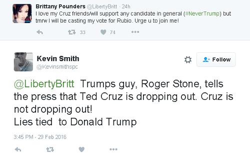 lies tied to trump tweet