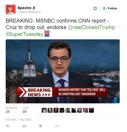Ted Cruz supreme court nomination