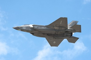 why is Lockheed Martin stock higher