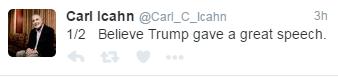 Carl Icahn Donald Trump