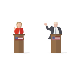 Presidential Debate: Trump vs. Clinton on the Refugee Crisis