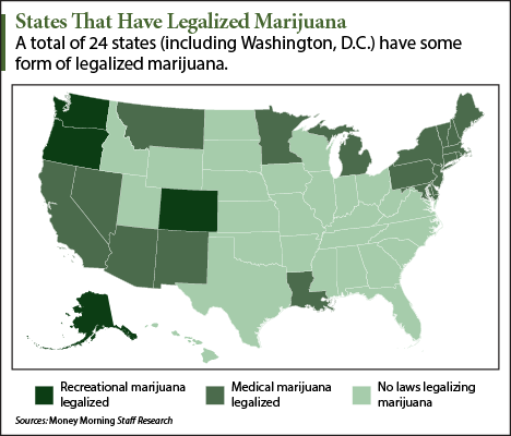 [MAP] States That Have Legalized Marijuana