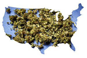 MAP States Legalizing Marijuana In - Marijuana legal us maps