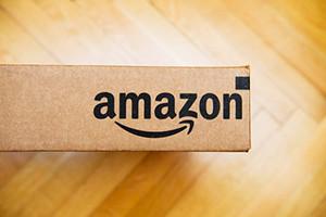 Amazon stock is down