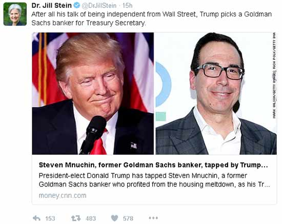 Four Money Scandals Tied to Steven Mnuchin, Future U.S. Treasury Secretary