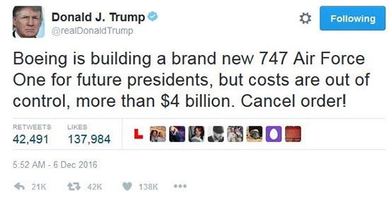 trump's twitter