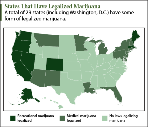 states that could legalize marijuana