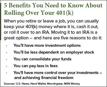 rolling over your 401(k)